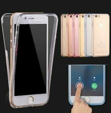 Clear TPU Silicone Shockproof 360 Full Cover Case For iPhone 8 7 6 5 4 S Plus SE