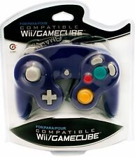 BRAND NEW CONTROLLER FOR THE NINTENDO GAMECUBE OR Wii (PURPLE) IN BOX