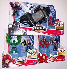POWER PAW BLACK PANTHER, HULK & BL WIDOW and IRON MAN & HAWKEYE Marvel Playskool