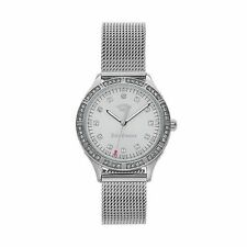 NWT Juicy Couture  Arianna 1901378 Women's Crystal Stainless Steel Watch