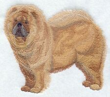 Embroidered Fleece Jacket - Chow Chow C9649 Sizes S - Xxl