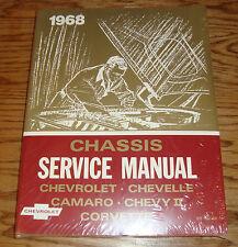 1968 Chevrolet Chassis Shop Service Manual 68 Chevy II Chevelle Corvette Camaro