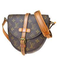Auth LOUIS VUITTON Chantilly PM Shoulder Bag Monogram Leather BN M51234 33BP236