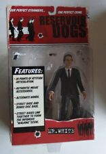 New Reservoir Dogs Mr White Action Figure Mezco Toys Harvey Keitel 2001! S75