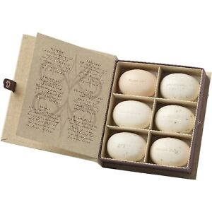 Bronnley Herbarium Soap Luxury Gift Box Natural Botanical Extracts 50g Set of 6