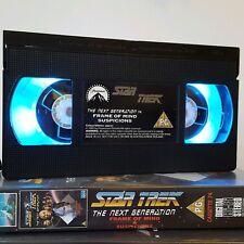 VHS Lamp Star Trek Next Generation Original Merchandise made by Nancysjars.