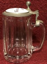 Wwi Wwii German Patriotic Glass Stein Bur Grinerung Remembrance Of My Service