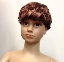 Brand New Boy Boy's Wig For Child Children Kids Mannequin Mannequins Brown