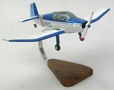 Jodel D-112 Private Airplane Desktop Wood Model Large
