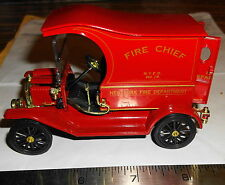 Ford Model T NYFD fire chief panel truck