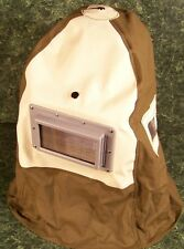 SANDBLASTER HOOD with Built in Vents large Lens and adjustable hard hat new