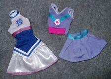 Barbie Doll Clothes - 2 MODERN CHEERLEADER UNIFORM OUTFITS