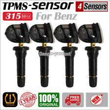 SET(4) 433MHz 13516165 for Chevrolet GMC Cadillac TPMS wheel Sensors Factory OEM