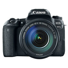 Canon EOS 77D Digital SLR Camera with 18-135mm EF-S f/3.5-5.6 IS USM Lens