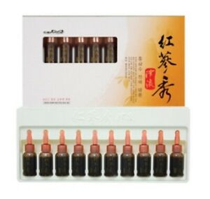 Somang Korea Red Ginseng Extract Hair Care Ampoule 10ml * 10pcs Vitamnin Saponin