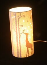 Giraffe Safari Scene table lamp or bedside lamp