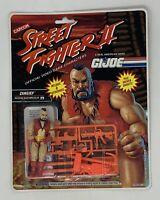GI Joe Street Fighter Zangief 1993 action figure