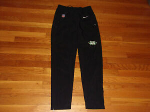 NIKE DRI-FIT NEW YORK JETS FOOTBALL ATHLETIC PANTS MENS SMALL EXCELLENT COND.