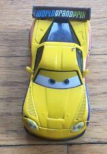 Disney Cars JEFF GORVETTE WITH CORVETTE LOGO Loose FIXED EYES