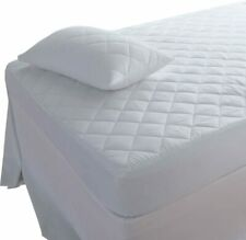 Waterproof Quilted Mattress Cover Protector Mattress Topper Single Double King