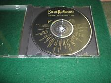 Vintage Stevie Ray Vaughan Limited Promo Only Tribute Cd RARE