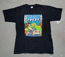 METALLICA Vintage T Shirt  Tour Concert 1991/92 Trails Crept ROAD CREW