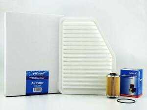 AIR OIL Filter Kit suit A1557 R2605P HOLDEN Commodore VE V6 Statesman WM V6