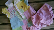Ralph Lauren baby outfit dress w bloomers pink  0-6 months