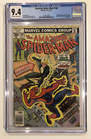 Amazing Spider-Man #168 CGC 9.4 - 2nd Appearance Of Will O' The Wisp 1977