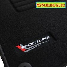 Tapis De Sol Audi TT Roadster 8N 1999 à 2006 Velours Logo Sportline Brodé NEUFS