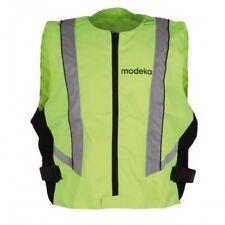 Modeka Warnweste 4xl Neon gelb Motorrad Sicherheitsweste Reflektor Pannenweste