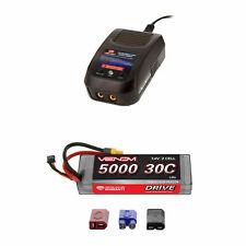 Venom 30C 2S 5000mAh 7.4V Sport Potencia Lipo Batería Cargador Combo ROAR Y Sport