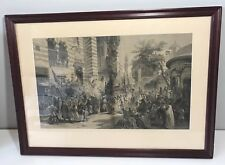 Framed Print Of The Procession. 25 X 19