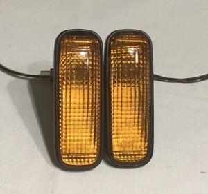 JDM EDM Honda Civic EK9 BB6 BB4 Amber Side Marker Lights Genuine STANLEY