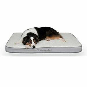 """K&H Pet Products Memory Sleeper Large Gray 29"""" x 45"""""""