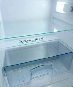 Kühlschrank Einlegeboden / Glasplatte / Gemüsefach - Klarglas 4 mm Stärke