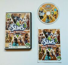 The Sims 3: World Adventures (PC: Mac/ Windows, 2009).Very Good Condition