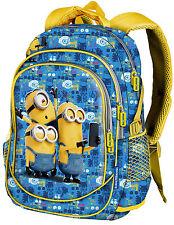 Backpack Minions Boy Boy Backpack Big school Bag Unisex Men Women 53214