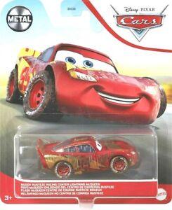 Disney Pixar Cars Lightning McQueen Metal MUDDY Rusteze Racing Center Car