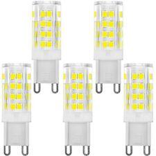 KINDEEP G9 LED Bulb Bi-pin base 40W Equivalent Daylight White 6000K 5-Pack, New