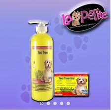 Specialized Dog Shampoo Tea Tree 500mL & Tea Tree Soap