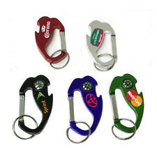 50 Personalized Keychains, Bulk Promotional Products, Customized Marketing Gifts