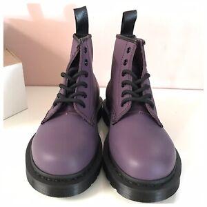 Dr. Martens 101 Purple 6-Eye Boots NIB  Size UK 4/ US Men 5/ US Women 6