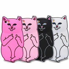 Pink Dip Lord Nermal Cat Case Cover Skin For Apple iPhone 5 5S 6 6S 7 7Plus Hot
