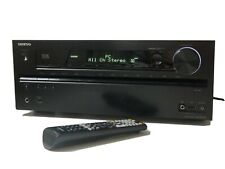 Onkyo TX-NR609 7.2 Channel 160 Watt AV Receiver With Remote. Intermittent Fault