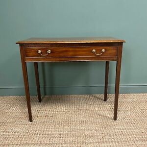 Fine Georgian Mahogany Antique Side Table