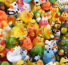 20 Lot Rubber Duck Ducky Duckie Baby Shower Birthday Party Favors Assorted Bulk