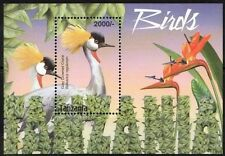 Gray Crowned Crane, Water Birds, Tanzania 2015 MNH MS  (C52)