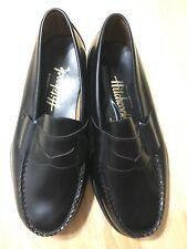 Sebago Hitchcock Black Leather Penny Loafer Shoes Sz 9 5E Wide New Vintage USA
