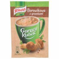 Knorr Goracy Kubek Borowikowa z Grzankami Instant Boletus Soup 15g Bag (5-Pack)